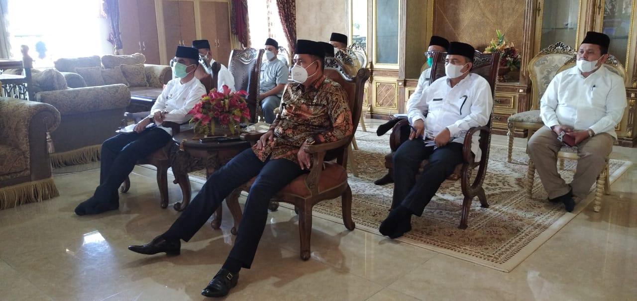 Bupati Solok Ikuti Vidcon dengan Mendagri  Terkait Peran Gubernur sebagai Wakil Pemerintah Pusat