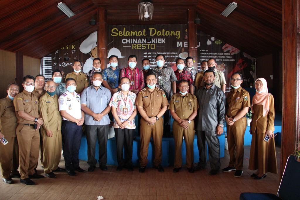 Jalin Kerjasama, Bupati Solok Terima Kunjungan Pemerintah Kota Pekanbaru