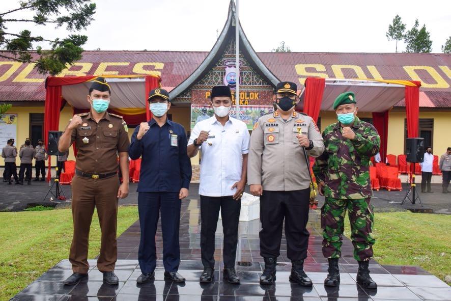 Wakil Bupati Solok Pimpin Apel Gelar Pasukan Ops Ketupat Singgalang
