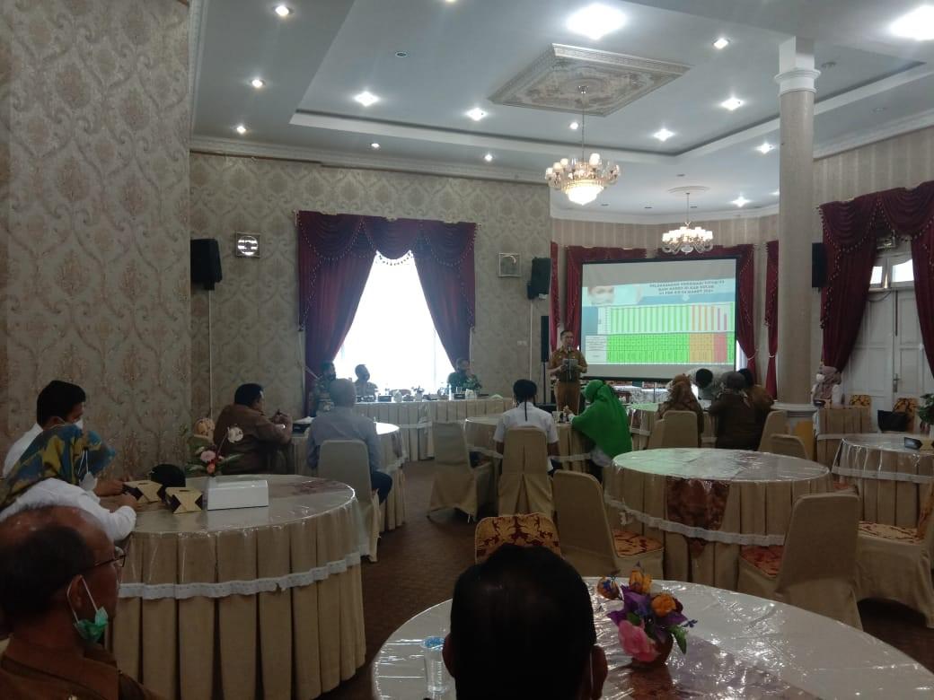 Kurangi Angka Covid 19 di Kabupaten Solok,  Dinkes Lakukan Sosialisasi Vaksinasi Covid 19 Tahap 2